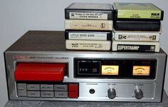 8-Track player and tapes.  My Dad had The Partridge Family one... I loved it and played the heck out of it!