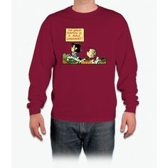 Lucy Protests The Great Pumpkin Charlie Brown Long Sleeve T-Shirt