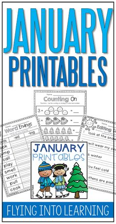 January Printables Packet