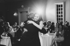 Father Daughter Dance | The Milestone Aubrey Mansion | Natalie Gore and James Casey Wedding Day