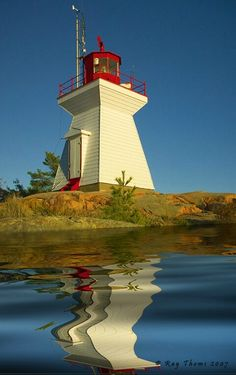 Killarney Lighthouse on Ontario's Georgian Bay Canada