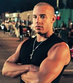 Vin Diesel. Man he is hot!