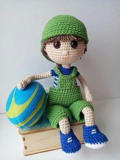 Crochet dolls, pattern and love ♥ by Katushka Morozova by KatushkaMorozova Crochet Doll Pattern, Crochet Dolls, Knit Crochet, Crochet Patterns, Crochet Hats, Amigurumi Doll, Diy Toys, Doll Patterns, Etsy Seller