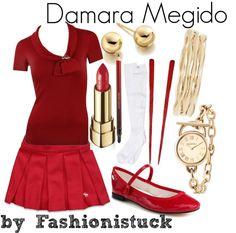 """""""Damara Megido"""" by fashionistuck on Polyvore"""