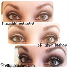 Easy as 1,2,3d! Younique Moodstruck 3d fiber mascara available at prettyuplashes.com