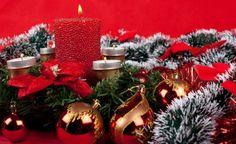 Decoración con velas de Navidad 2014, ideas
