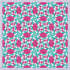 (7) Name: 'Quilting : Foundation Pieced Wedding Ring 2 Block
