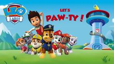 Paw Patrol - Party Invitation