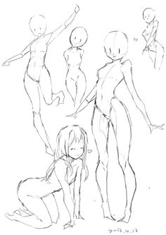 Female body refrence art