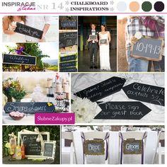 Tablice do napisów kredowych są hitem tego lata. Idealne na letnie wesela w stylu ogrodowego przyjęcia!