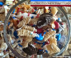 Patriotic Chex Party Mix
