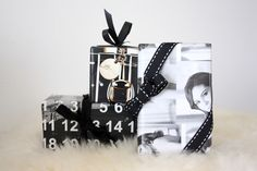 Homevialaura | christmas presents | gift wrapping made of magazine pages