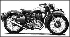 1950 Royal Enfield 350 Bullet