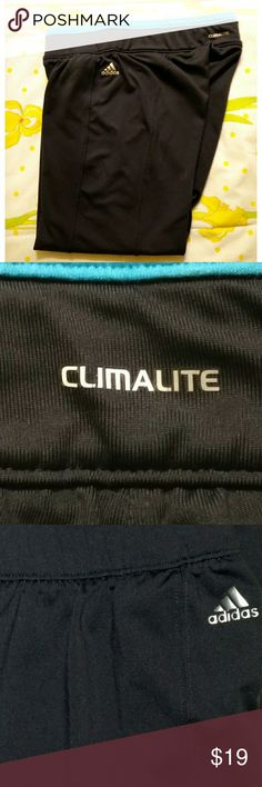 ADIDAS ClimaLite Capri Moisture Wicking Tech Pants ADIDAS Climalite TechFit 3/4 Capri Pants. Size small. These Adidas pants are designed with moisture wicking Climalite technology for maximum comfort and movement ready capri length. Skinny fit through hips and thighs. Excellent condition. Adidas Pants