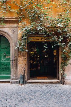 Artisan workshop in Trastevere, Rome