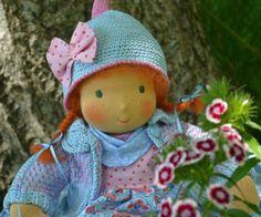 ❀✿❀ Baby Sonnenscheinchen ♥ Puppenkind 40 cm ❀✿❀ von Hermis Puppenstube - ♥ - Puppenmachen ist Herzenssache - ♥ - Stoffpuppen zum Liebhaben gemacht ! auf DaWanda.com