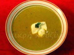 μικρή κουζίνα: Κοτόσουπα βελουτέ Soup, Ethnic Recipes, Soups
