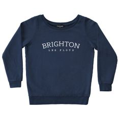 Sweater Brighton-les-flots - FrenchDisorder - expédition 24h