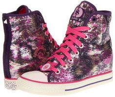 SKECHERS - Daddy's Money - Gimme After Party (Pink/Purple) - Footwear on shopstyle.com