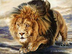 Linda DuPuis Rosen - Wildlife Art in Watercolor - Gallery - Wildcats of Africa