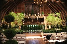 Lanterns & burlap for Samuel & Kalia's wedding @ Black Fox Farm!