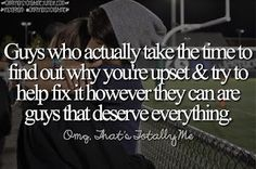Guys who actually take the time.........