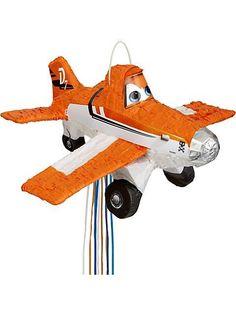 Dusty Pinata- 12 Disney Planes #Party Ideas #DIY #crafts http://www.surfandsunshine.com/disney-planes-party-ideas/