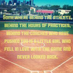 Softball, softball, softball
