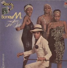 BoneyM Love For Sale English Vinyl LP