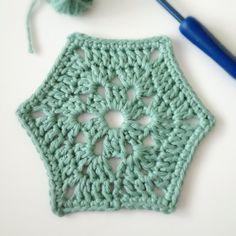 "Sunday Crochet Motif (Motif # 30 from the book ""Beyond the square crochet motifs"")"