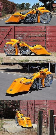 Motorcycles: 2009 Harley-Davidson Touring 2009 Custom Road Glide Road King Bagger. -> BUY IT NOW ONLY: $45000 on eBay!