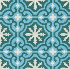 cement tile granada -  paint oversized, use contact paper for stenciling