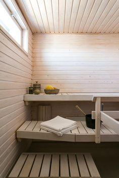 Sauna in Herttoniemi, Helsinki Finland Helsinki, Finland, Interior Styling, Blinds, Curtains, Architecture, Storage, Birches, Saunas
