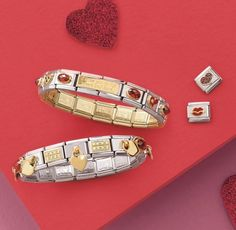Nomination Charms, Nomination Bracelet, Charmed, Italy, Bracelets, Jewelry, Rings, Italia, Jewlery