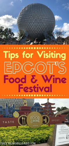 Planning a trip to the Epcot Food and Wine Festival this year? Here are a few top Tips For Visiting The Epcot Food And Wine Festival at Walt Disney World. Disney World Rides, Disney World Food, Disney World Planning, Walt Disney World Vacations, Disney World Resorts, Disney Travel, Disney World Tips And Tricks, Disney Tips, Wine Festival