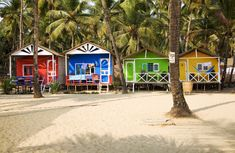 Looking for Goa beach huts and wondering where to find the best ones? These Goa huts all offer something a little more special than the rest. Southern Living House Plans, Cottage Style House Plans, Cottage Floor Plans, Beach House Plans, Cottage Style Homes, Cottage House Plans, Cottage Design, Small House Plans, Small Beach Cottages