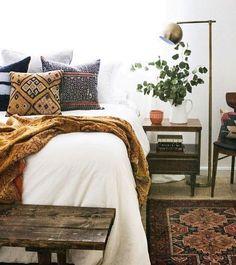 fall colors bedroom