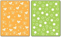 Sizzix Textured Impressions Embossing Folders 2PK - Butterflies & Flowers Set by Stephanie Barnard