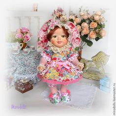 Купить Зайка Веснушка. Зайка тедди-долл.Коллекционная интерьерная кукла - зайка, зайка кукла