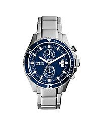 Fossil® Men's Stainless Steel Wakefield Chronograph Watch