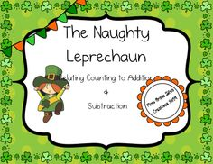 $ This romping fun game will keep your little leprechauns engaged!  This game focuses on relating counting to addition and subtraction.  Game includes directions, tips to reach all learners, recording sheet, and two game boards.