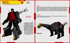 DINOBOT SHATTER by F-for-feasant-design.deviantart.com on @deviantART