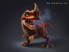 ArtStation - Dragon Baby, Crazy JN