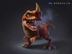 ArtStation - Dragon Baby, Crazy JN