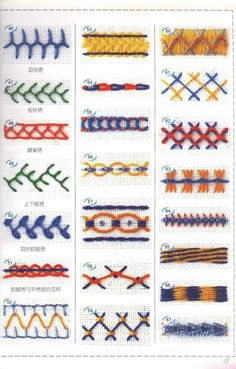 Embroidery Stitches Ideas Different types hand embroidery Crazy Quilt Stitches, Sewing Stitches, Hand Embroidery Stitches, Embroidery Techniques, Embroidery Applique, Cross Stitch Embroidery, Embroidery Designs, Sewing Patterns, Crazy Quilting