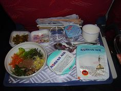 For real, Korean Air's bibimbap = best airline food ever in the history of everything.