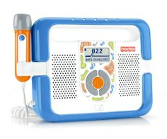 Amazon.com: Fisher-Price Kid-Tough Music Player with Microphone - Blue: Toys & Games