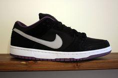 Nike SB Dunk Low-Black-Purple