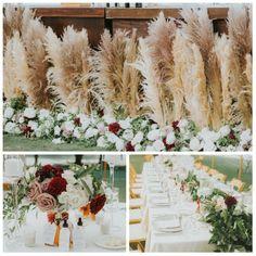 The Ranch at Laguna Beach Beach Wedding Flowers, Pampas Grass, Huntington Beach, Laguna Beach, The Ranch, Wreaths, Table Decorations, Nude, Home Decor