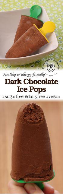 Nóri's ingenious cooking: Diet-friendly dark chocolate ice pops